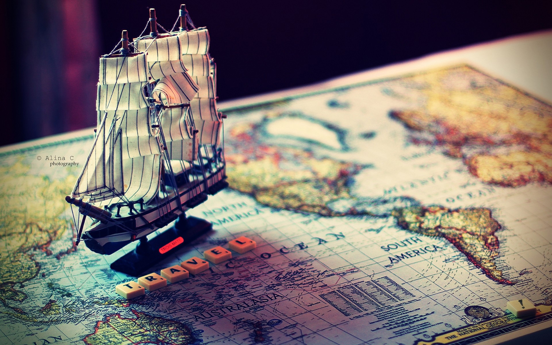 Map With Ship World Travel Wallpaper Hd Desktop Mobile Free Download Freedom Travel Planners